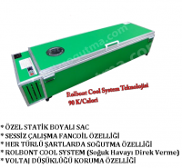 Klimalı Tabut (90k/calori) MODEL YS 002 (yeşil)